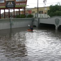 Tucson, AZ - Monsoon Flooding - Stone Underpass, Тусон