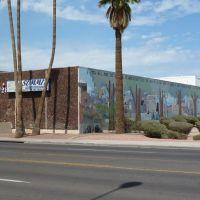 Phoenix, AZ:  Summit High School Mural - E. Wall, Финикс