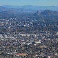 Downtown Phoenix & Camelback Mtn, Финикс