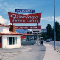 Andy Womacks Flamingo Motel, Flagstaff 1988, Флагстафф