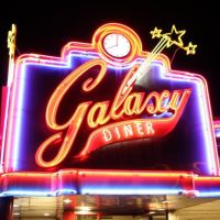 Galaxy Diner - Historic Route 66 - Flagstaff Arizona, Флагстафф