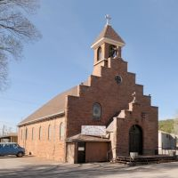 Our Lady of the Blessed Sacrament Catholic Church - Ft. Defiance, AZ 4-2011, Форт-Дефианс