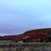 Red Cliffs in the Evening, Форт-Дефианс