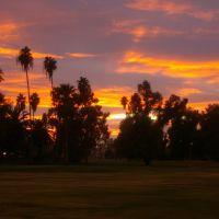Sunset on the San Marcos greens, Чандлер