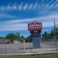 Atkins Junior High School Parking Lot., Аткинс
