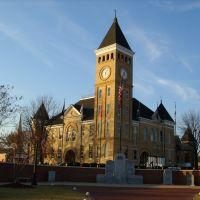 Saline County Arkansas Courthouse in Benton, Бентон