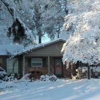 Snow on Christmas Day, 2012, Бентон