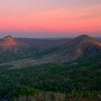 Brush Heap Mountain, Блевинс