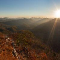Raspberry Mountain Sunrise, Блевинс