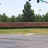University of Arkansas sign, Вашингтон