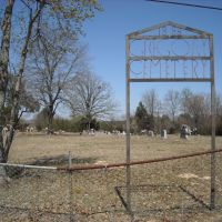 Gregory Cemetery, 1888, North of Alma, Arkansas, USA, Киблер