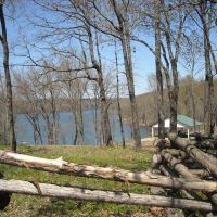 Alma City Lake fishing access area, Alma, Arkansas, USA, Киблер