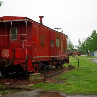 Missouri Pacific Caboose at Corning AR, Корнинг