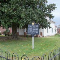 Historical Marker, Лейк-Виллидж