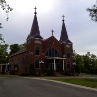 St. Johns Catholic Church near Maynard, AR, Покахонтас