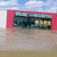 OReilly auto parts pocahontas ar flood 2011, Покахонтас