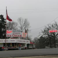 Burges Bar-B-Q, Lewisville, Arkansas, Прескотт