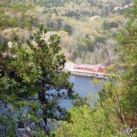 Lake Catherine Dam from Dam Trail Overlook, Рокпорт