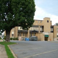 Hot Spring county court house in Malvern, Рокпорт