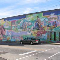 Downtown Camden Mural #2, Смаковер