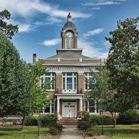 Arkansas - Cleveland County Courthouse, Смаковер