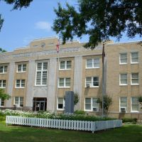 Arkansas County AR Courthouse (South District) in De Witt, AR, Стампс