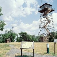 Rich Mountain Fire Tower, Толлетт