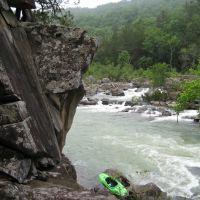 Cossatot River Esses, Толлетт