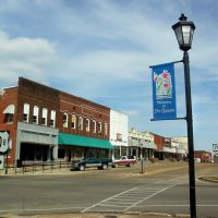 Beautiful Downtown De Queen, Sevier County, Arkansas, Толлетт