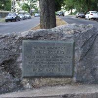 Will Rogers monument (威爾˙羅傑斯的紀念碑), Фейеттевилл
