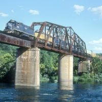 Cotter, Arkansas, M&NA RR Bridge, Флиппин