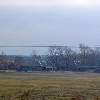 Railroad bridge, Форрест-Сити