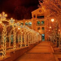 Downtown Christmas Arches, Хот-Спрингс (национальный парк)