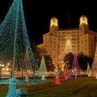 Arlington Hotel and Park at Christmas, Хот-Спрингс (национальный парк)