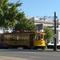 CAT River Rail trolley, North Little Rock, Arkansas, Шервуд