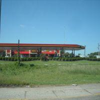 Gas station at Arkansas freeway, Шервуд