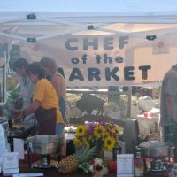 Chef of the Market in downtown Casper, Каспер