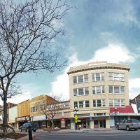 Downtown casper, Panorama, morgan jones©, Каспер