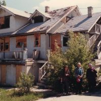 The Larson Apartments: Revisiting from 1938-1940 (Looking Northeast) - 22 MAY 1987, Каспер