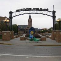 Cheyenne, Depot Plaza, Шайенн