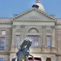 State of Wyoming Capitol, West Entrance, Шайенн