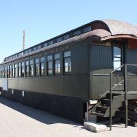 Cheyenne, Wyoming, historic Union Pacific train wagon, Шайенн