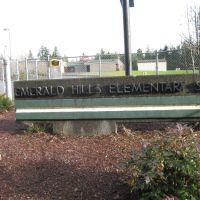 School sign, Бонни-Лейк