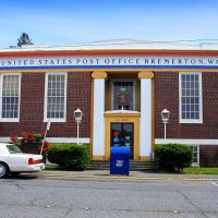 Bremerton Post Office, Bremerton, Washington, Бремертон