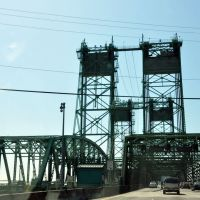 I-5 Drawbridge over Columbia River, Ванкувер