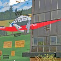 Chkalov Mural, Ванкувер