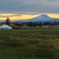 Mt. Adams from Goldendale., Голдендейл