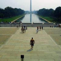 Washington Monument and Reflecting Pool, Женева