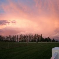 Sunset over Bothell Sports Fields, Кенмор