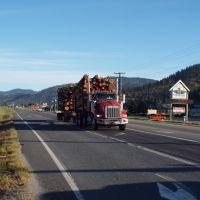 Colville log truck, Колвилл
